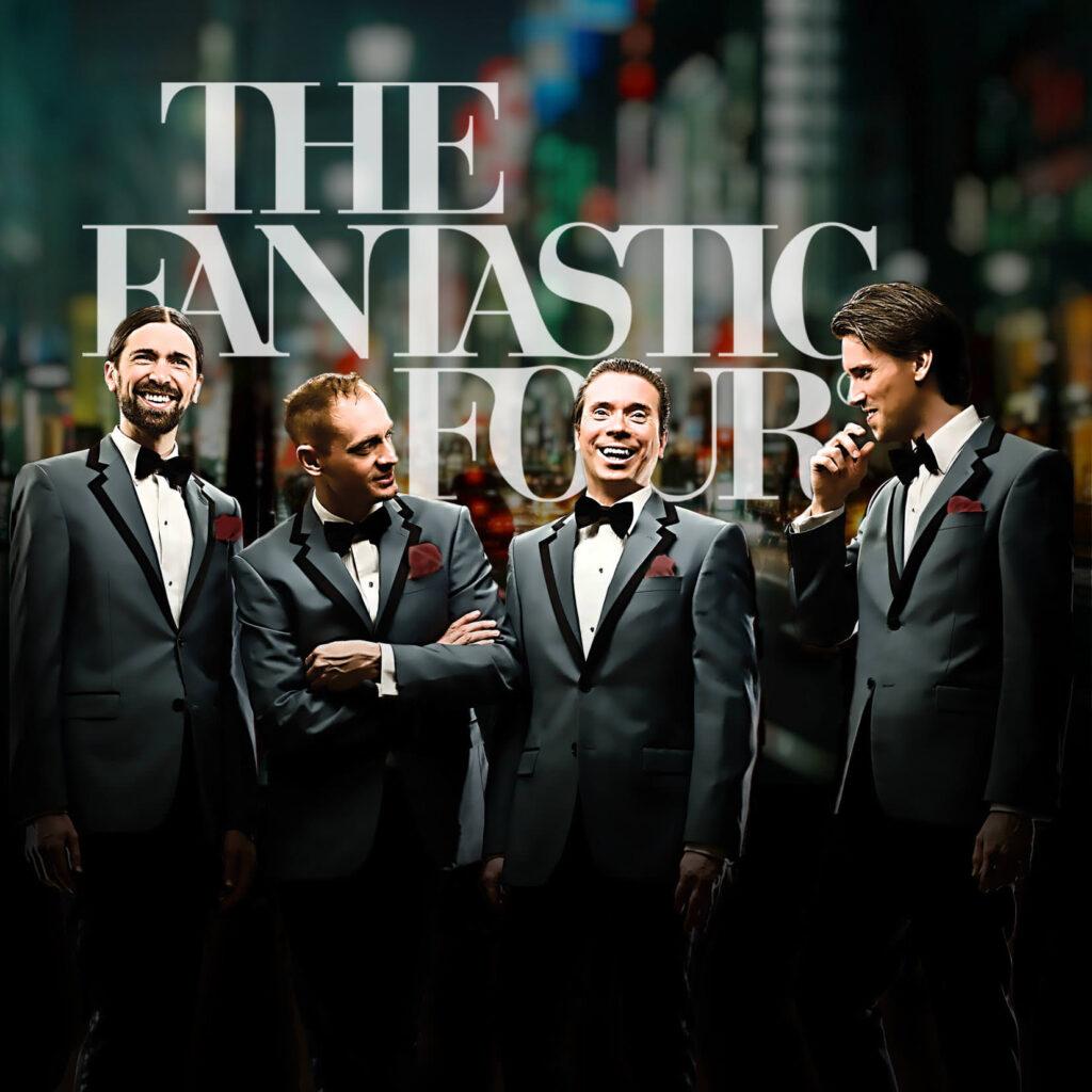 The Fantastic Four anlitas via Showgruppen