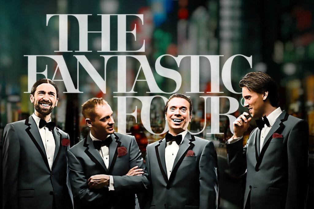The Fantastic Four anlitas via howgruppen miniatyr